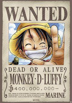 One Piece Poster Wanted Monkey D. Luffy Source by mrsenerodiaries luffy One Piece Anime, One Piece Luffy, One Piece Tattoos, Pieces Tattoo, One Piece Cosplay, One Piece Zeichnung, One Piece Bounties, Photo Manga, Fake Tattoo
