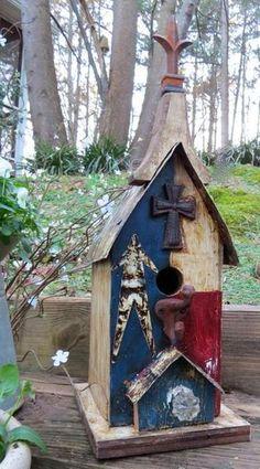 Americana Birdhouse-Small