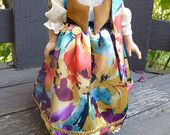 Gypsy costume for American Girl or similar 18 inch dolls (DOLL NOT INCLUDED) perfect for Carnival or Halloween