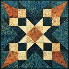 KIT- Merlin's Star, a Stonehenge Solstice Block Party Kit - 1551215183 Jelly Roll Quilt Patterns, Star Quilt Patterns, Pattern Blocks, Quilting Projects, Quilting Designs, Quilting Ideas, Stonehenge Solstice, Camo Quilt, Star Quilt Blocks