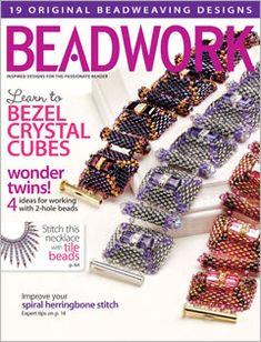 2013 Apr-May - BEADWORK magazine (Used), at Sova-Enterprises.com