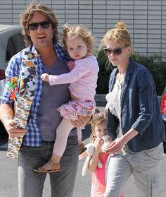 Las princesitas de Nicole Kidman y Keith Urban se hacen mayores