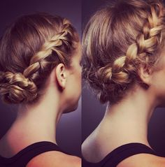 My summer hair inspiration Fancy Hairstyles, Summer Hairstyles, Straight Hairstyles, Braided Hairstyles, Braided Updo, Hair Affair, Great Hair, Hair Today, Hair Dos