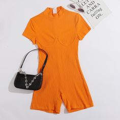 Bustiers, Romwe, Velvet Scrunchie, Knitted Romper, Ripped Skinny Jeans, Printed Pants, Rompers Women, Playsuits, Fast Fashion