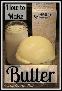 Fun Things Friday: Homemade Butter