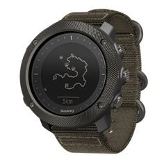 Suunto Traverse Alpha Foliage - GPS/GLONASS watch with versatile outdoor functions for fishing and hunting #SuuntoTraverseAlphaFoliage