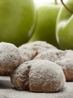 These crazy-good crescent cookies have apple in them, which makes them perfect for your sweet tooth. Serve them to your guests at the next party you host, and people will be amazed at the flavor! Applesauce Cookies, Apple Cookies, Biscotti Cookies, Apple Muffins, Apple Recipes, Fall Recipes, Cookie Recipes, Crescent Cookies, Crescent Roll Recipes