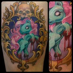 My little bloody pony