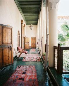 Marrakech's gorgeous Riad El Fenn.