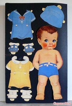 Бумажные куколки -  Russian for Paper Dolls