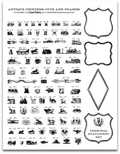 antique clipart, so fun!