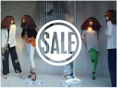 Sale sign Shop Window decal by cutnpasteshop