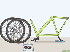 Fahrrad neu lackieren – wikiHow