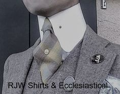 High Collar Shirts, Suit Shirts, Beard Suit, Bespoke Shirts, Mens Fashion, Fashion Outfits, Suit And Tie, Suspenders, Mens Suits