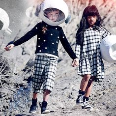From Kenzo Kids' eye-print clothing, to galaxy-trend fashion by Diesel, to all…