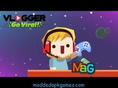 Vlogger Go Viral Mod Apk Unlimited Money Or Diamonds (All Upgrades) #moddedapkgames