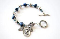 Saint Michael the Archangel Rosary Bracelet Catholic Jewelry | Etsy St Michael Novena, Saint Michael, Catholic Jewelry, Catholic Gifts, Spiritual Armor, St Michael Medal, The Better Angels, Rosary Bracelet, Beaded Cross