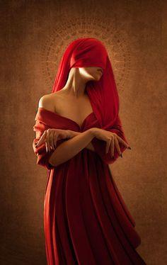 Red saint  © Onzième Veilleur-Prêtre de Sainte-Dysmorphine