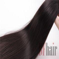 BF Hair 100% Unprocessed Human Hair 6A Brazilian Virgin Straight Hair  - BF Hair