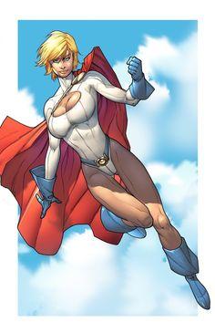 Powergirl 11x17 print