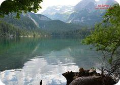 Sulle rive del lago di Tovel (Comune di Tuenno - Val di Non - TN)