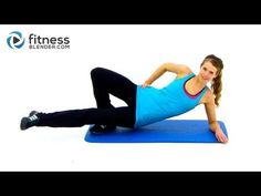 10 Minute Inner Thigh Workout - Fitness Blender Inner Thigh Exercises to Tone - YouTube