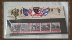 Royal mail stamps D Day 6 june 1944 stamp presentation pack No248 by brianspastimes on Etsy