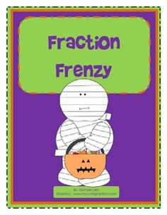 Students identify the fun Halloween fractions....