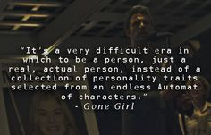 Gone Girl-Great Quote