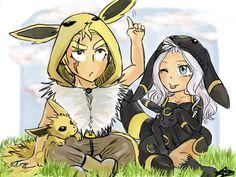 Miraxus Pokemon AU by Yolodie on DeviantArt