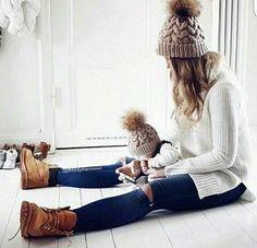 Mum + baby ... matching outfits