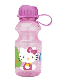 Another great find on #zulily! Hello Kitty 14-Oz. Tritan Water Bottle #zulilyfinds