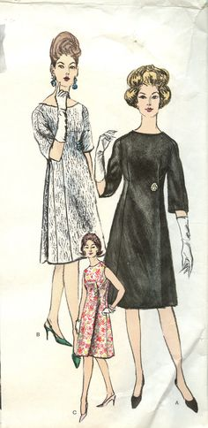 1960s Vogue Couturier 1223 Fabiani of Italy by GreyDogVintage, $65.00 #60s #retro #vintage