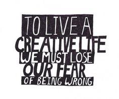 Create to live