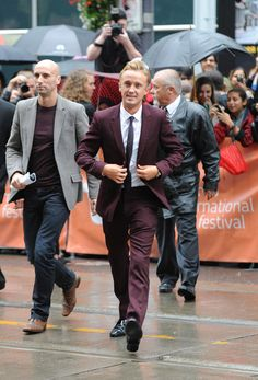 """Tom Felton Photos Photos - Actor Tom Felton attends the """"Therese"""" premiere during the 2013 Toronto International Film Festival at Isabel Bader Theatre on September 7, 2013 in Toronto, Canada. - """"Therese"""" Premiere - Arrivals - 2013 Toronto International Film Festival"""