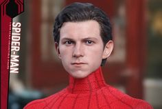 Head Sculpt Revealed for Hot Toys' Spider-Man: Homecoming 1/6th Scale Figure