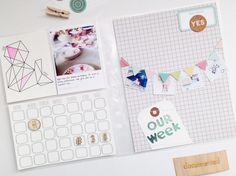 Week 38 Project Life by HelloTodayCreate  at @studio_calico