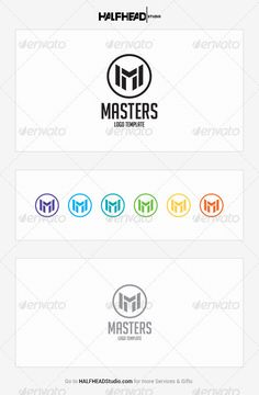Masters Logo Template — Vector EPS #business #app • Available here → https://graphicriver.net/item/masters-logo-template/8141954?ref=pxcr