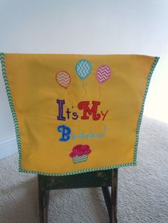 It's My Birthday Chair Cover