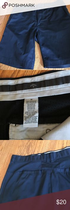 """Callaway golf shorts size 36 Great condition golf shorts. 10"""" inseam. Worn a handful of times. Callaway Shorts Flat Front"""