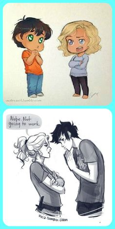 OMG!!! found the baby picture of annabeth and percy. and thought to myself how i saw an older version and i found it!!!!! YASSS. CUTEST COUPLE SINCE FOREVER ♥♥♥