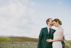 Wedding at The Carneros Inn in Napa Valley - Photography: Milou & Olin. Featured on Green Wedding Shoes #bride #groom