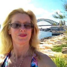 Iconic image ... Sydney Harbour Bridge in the background.  Yup it's a selfie!  I had offered to take a pic of a lady she declined turned out she was a regular on the path in this newly landscaped area and was taking selfies to send to friends in NZ.  Ah well every now and again offering to take a photo will see the favour returned... Can be a fun way to interact with people.  #selfie #Sydney #harbourbridge #sydneyharbourbridge by power2joy http://ift.tt/1NRMbNv