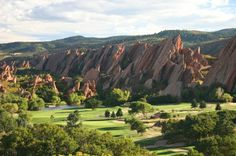 Another beautiful golf course that I have played many times. Arrowhead Golf Course just south of Denver, CO