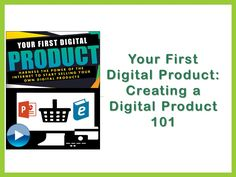 Create a Digital Product you can sell online to keep 100% of the profits.