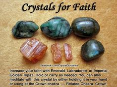 Faith crystals