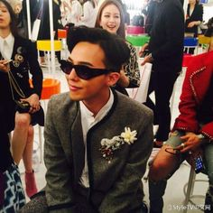 150504 G-Dragon at Chanel's The Cruise 2015/16 Show in Seoul
