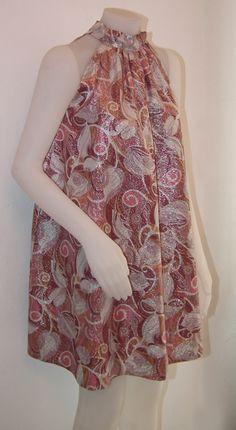 Original dress italian dressmaking '60 years. Pink and silver. Really fabulous - Abito di sartoria originale italiano anni '60 rosa e argento. Davvero favoloso.  By http://www.facebook.com/jsvintage