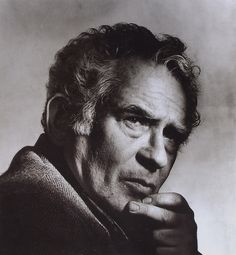 Portrait of Norman Mailer, by Irving Penn, 1984