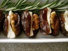3 Ingredients = Dates, Parmesan & Walnuts